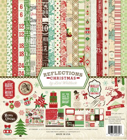 Echo Park Reflections Christmas!  Coming soon to Serendipity
