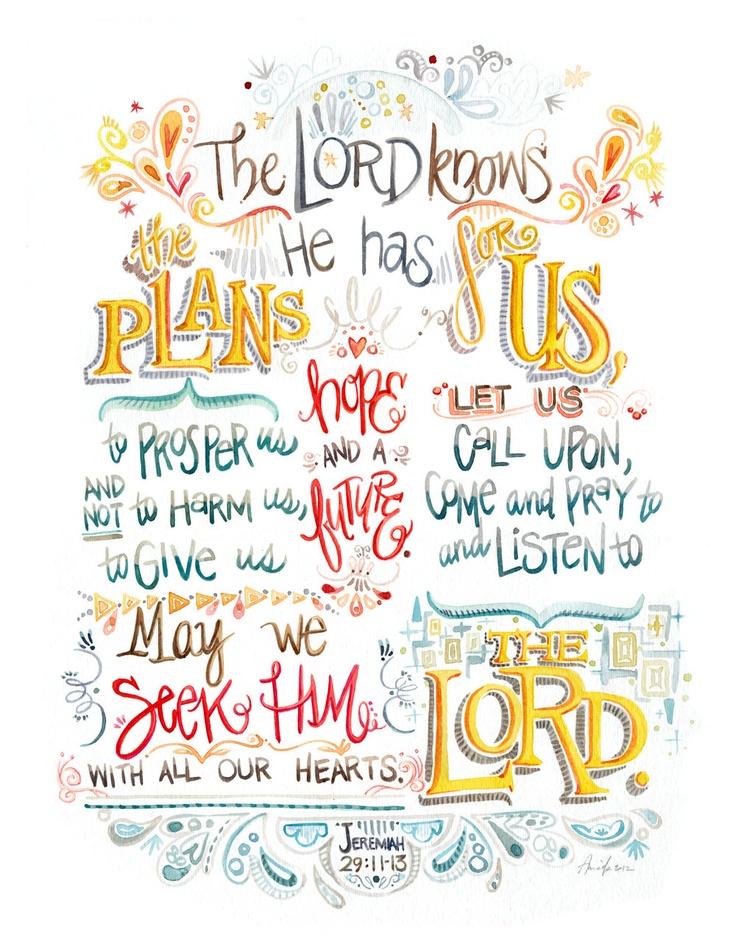 Jer 29:11-13