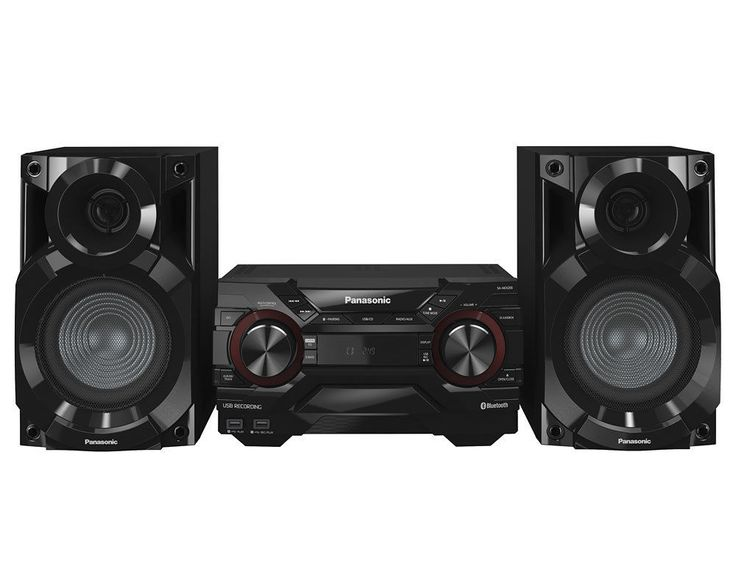Panasonic SC-AKX200EK 2 Channel 400W  Mini HiFi System Black