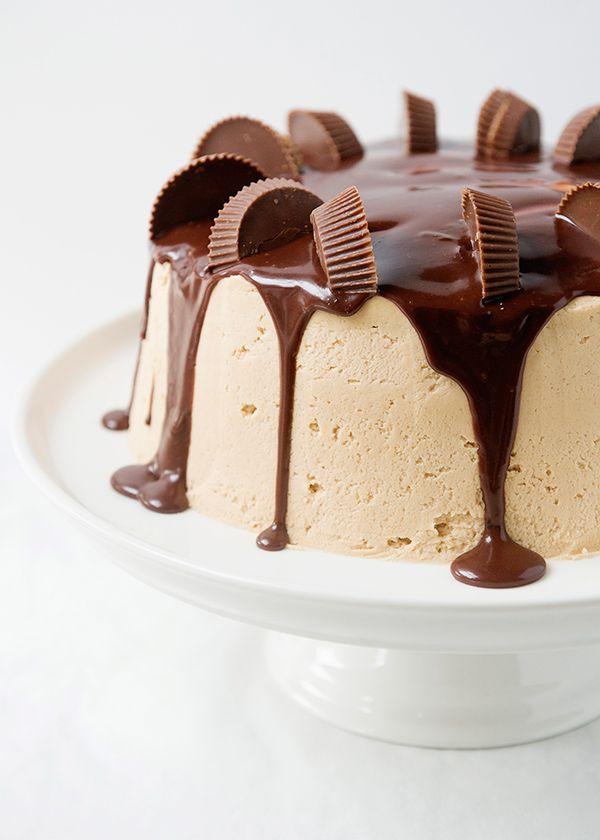 peanut butter cake | baked bree