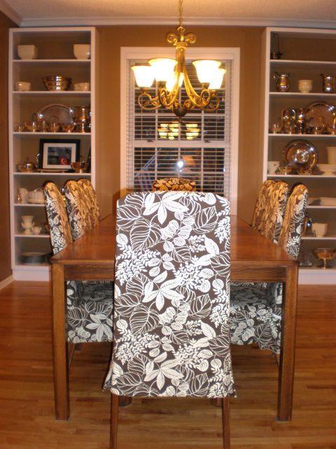 DIY Parson Chair Slipcover!