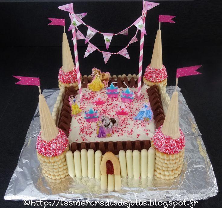 Gâteau château de Princesse