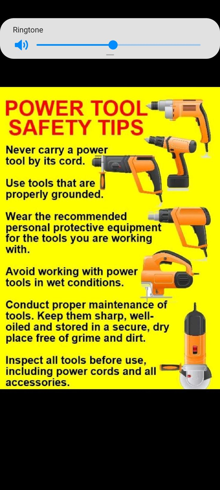 Pin by Rashid on Safety in 2020 Power tool safety