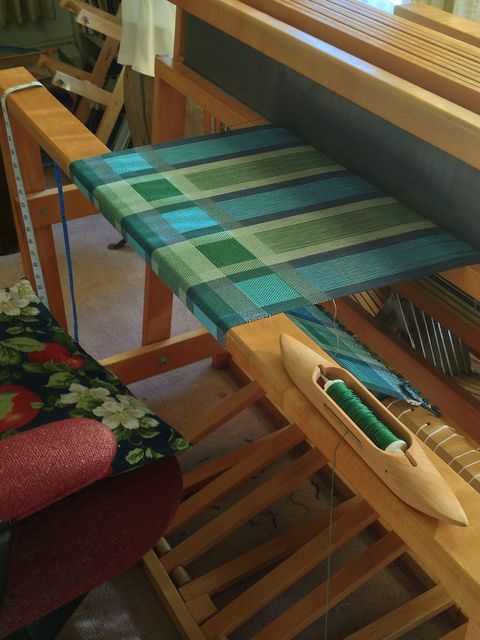 Turned Taquete tea towels Jan 9, 2014 9:51 PM by sapoague, iowaweaver, via Flickr. By Susan Poague