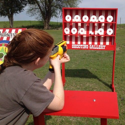 Shooting Gallery Carnival Game for VBS or School Party | eBay