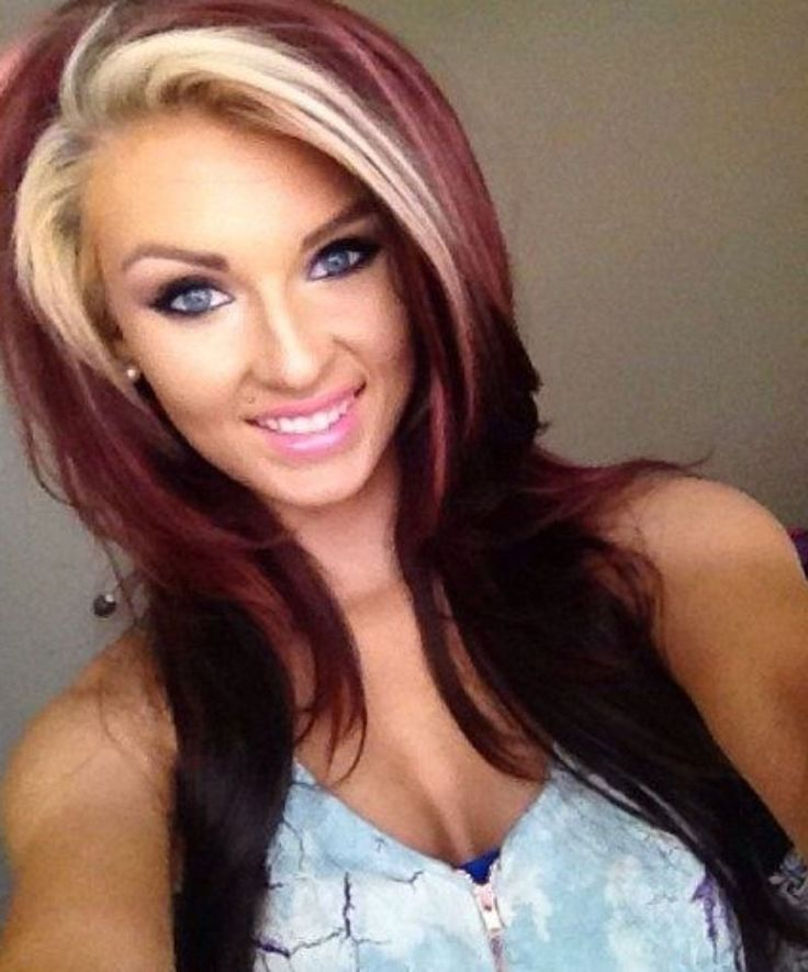 Two Tone Hair Color Ideas How To Dye Hair Two Colors At