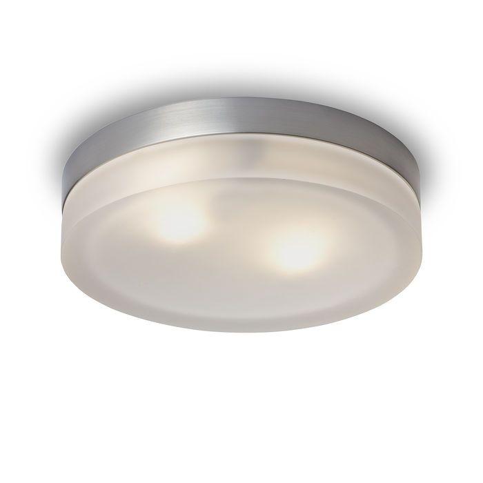 Stropní svítidlo z masivního litého skla na kruhové nerezové základně. Svítidla jsou pouze pro žárovky s malou baňkou nebo odpovídající úsporný světelný zdroj. Svítidlo R10225 je pouze pro trubkovou žárovku E14. Případné nerovnosti skla nejsou vadou svítidla.
