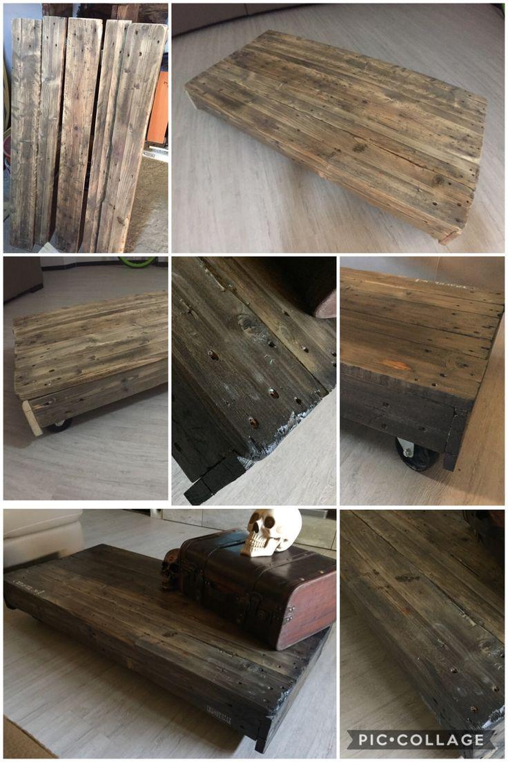 My little creepy industrial table!!!!!!!