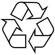Mobius Ring: geeft aan dat de verpakking te recycleren is of gemaakt uit reeds gerecycleerde materialen.  Labelinfo.be, jouw gids door het bos van duurzaamheidslabels. Een initiatief van Netwerk Bewust Verbruiken.