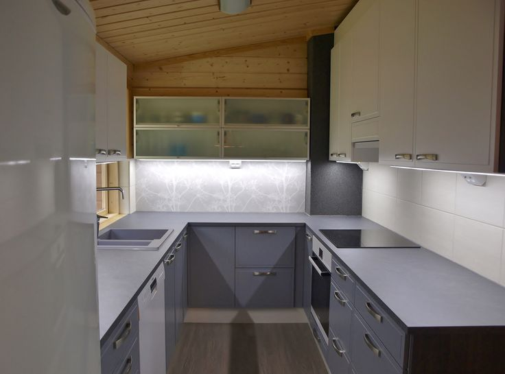 #summerhouse #kitchen #renovation. #Loghouse #Kesämökki #keittiöremontti #Heinola #interiordesign