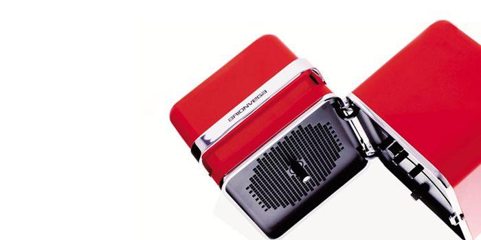 Marco Zanuso and Richard Sapper  Radiocubo TS502/TS522  1964/1998  Briovega Collection