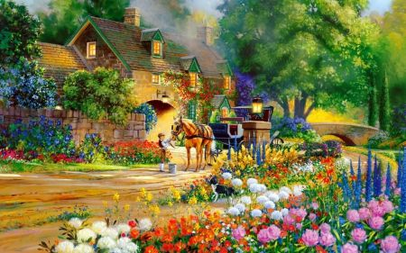 American Paint And Wallpaper Fall River Most Beautiful Nature Paintings Google Search Cottages