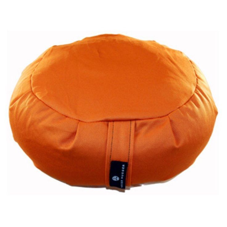 Hugger Mugger Zafu Yoga Meditation Cushion Pumpkin - BO-ZAFU-CHOICE-PUMPKIN