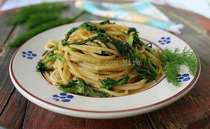 Spaghetti+al+finocchietto+e+bottarga