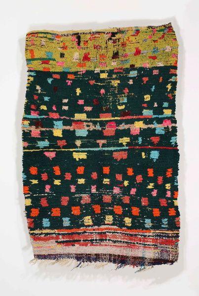 Alberto Levi Gallery   Berber rug  Boucherouite  Morocco