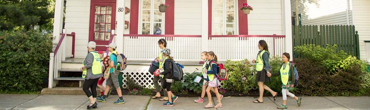 Veille action pour de saines habitudes de vie - Le transport actif vers l'école: une occasion en or de faire bouger les jeunes!