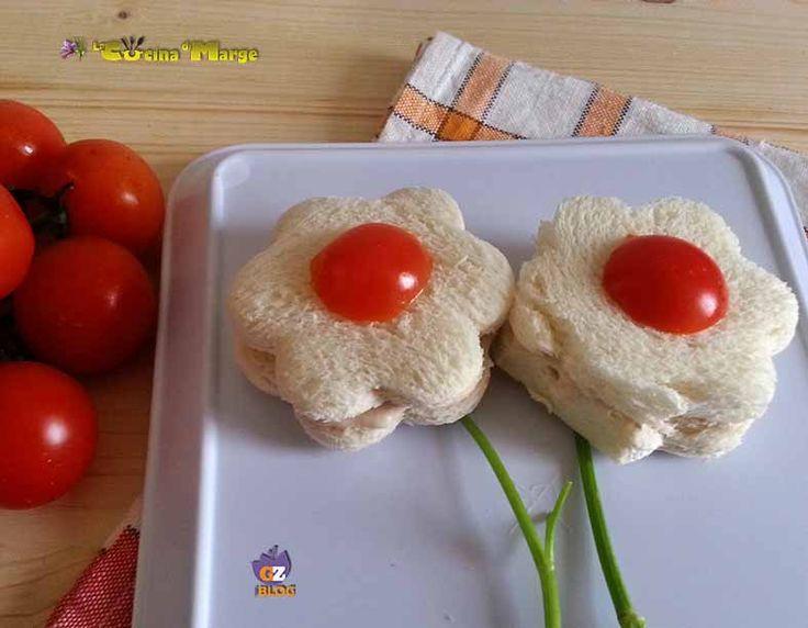 Oggi una ricetta semplicissima un idea carina da proporre come antipasto i FIORI DI TRAMEZZINI #gialloblogs http://blog.giallozafferano.it/lacucin…/fiori-di-tramezzini/