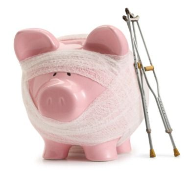 how my piggy bank is feeling this year