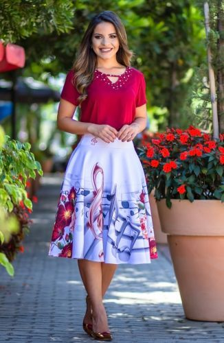 Sale Looking For Cupro Skirt - topsy turvy by VIDA VIDA Sale Online Store MyUIP
