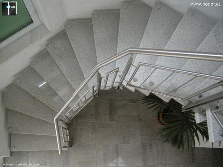 realizacja schody granitowe Hoder #kamień #schody #granit #marmur #wnętrza #interior #design #office #hallway #marble #granite
