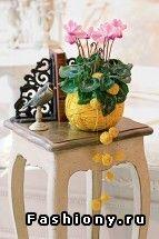 Кашпо для комнатных растений / как сделать кашпо своими руками