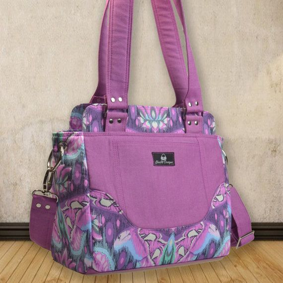 Purse Pattern PDF for Sewing a handbag Designer by ChrisWDesigns
