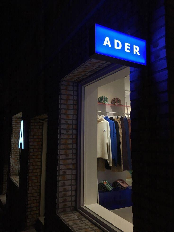 ADER SHOWROOM IN SEOUL #ADER#ADERERROR#SHOWROOM