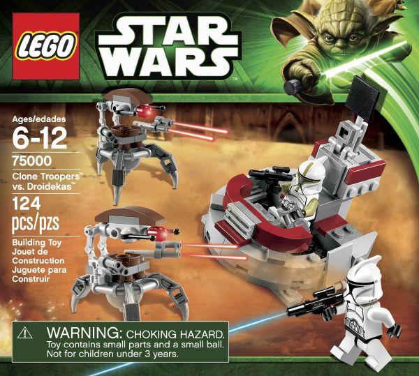 LEGO Star Wars #75000 - Clone Troopers vs. Droidekas Battle Pack