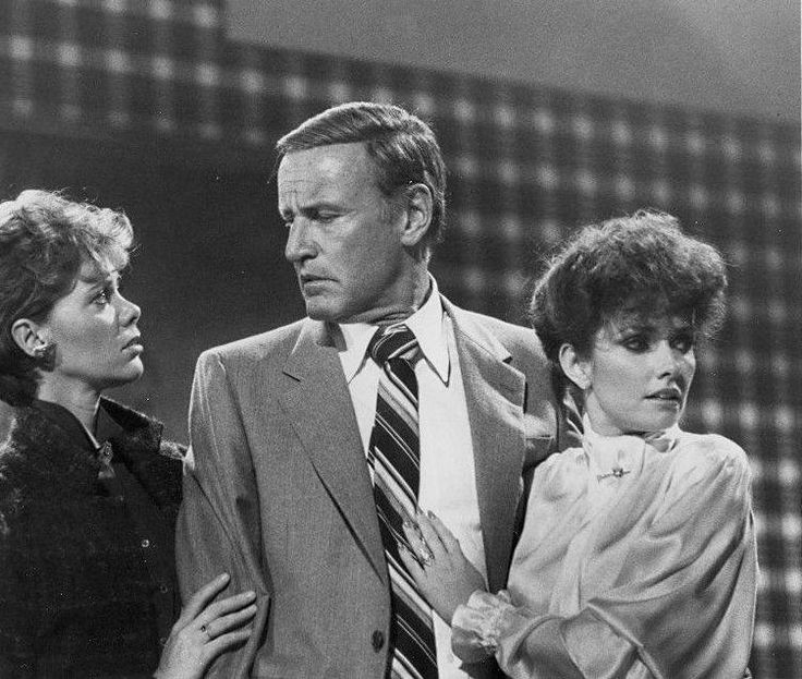 Anne Lockhart, Richard Anderson, and Morgan Brittany, TV's The Fall Guy (1983)