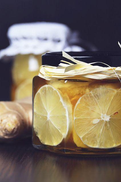 Apetyczna babeczka: Korzenna cytryna z imbirem do herbaty