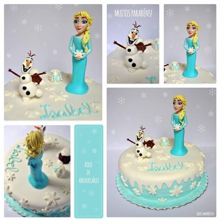 Bolo 'Frozen' // 'Frozen' Cake