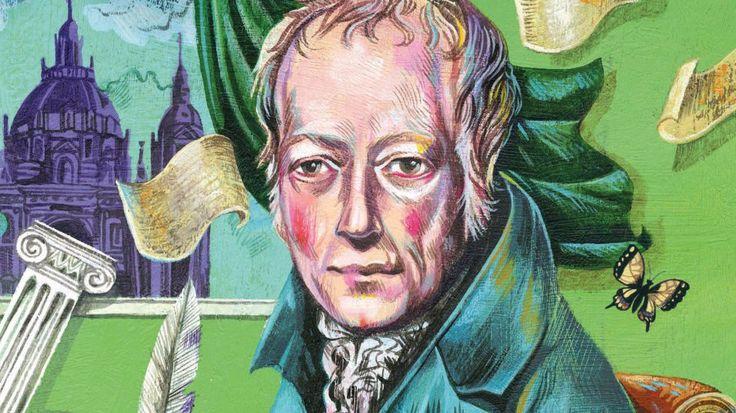 Das Cover der Cicero-Maiausgabe zeigt den Gelehrten Wilhelm von Humboldt