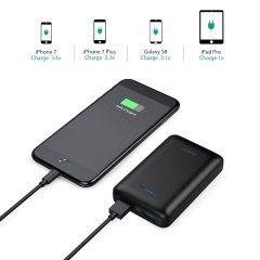 外出先で一番心配なのはスマホの充電切れですよね オーキーというメーカーのモバイルバッテリーは高機能なのでおすすめです iPhone7だと回分iPad Mini2には回以上XperiaZ3だと約2回分の充電できるという容量で重さは180g 小さなポケットからの出し入れもしやすいですよ()  #スマホ #スマートフォン #モバイルバッテリー #通販