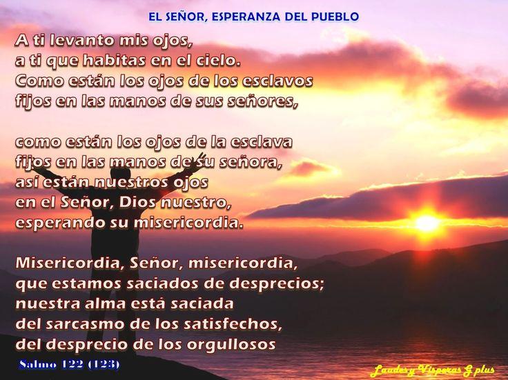 #SEXTA #LectioDivina http://www.liturgiadelashoras.com.ar/sync/2016/jun/12/sexta.htm Himno Salmo 122 - EL SEÑOR, ESPERANZA DEL PUEBLO Salmo 123 - NUESTRO AUXILIO ES EL NOMBRE DEL SEÑOR Ant El Señor rodea a su pueblo ahora y por siempre. Salmo 124 - EL SEÑOR VELA POR SU PUEBLO LECTURA BREVE   Rm 8, 22-23 ORACIÓN...