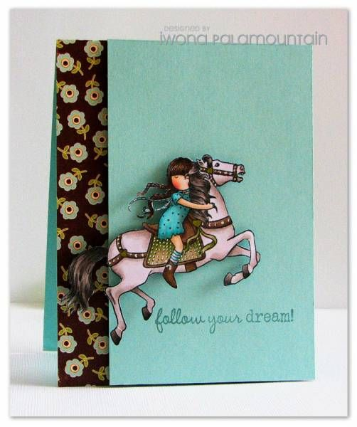 Follow your dreams by Chupa - Cards and Paper Crafts at Splitcoaststampers