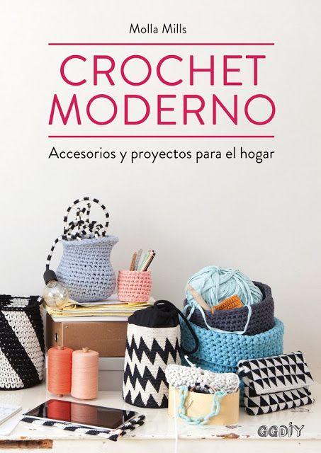 Crochet Moderno - Molla Mills | CTejidas [Crochet y Dos Agujas]