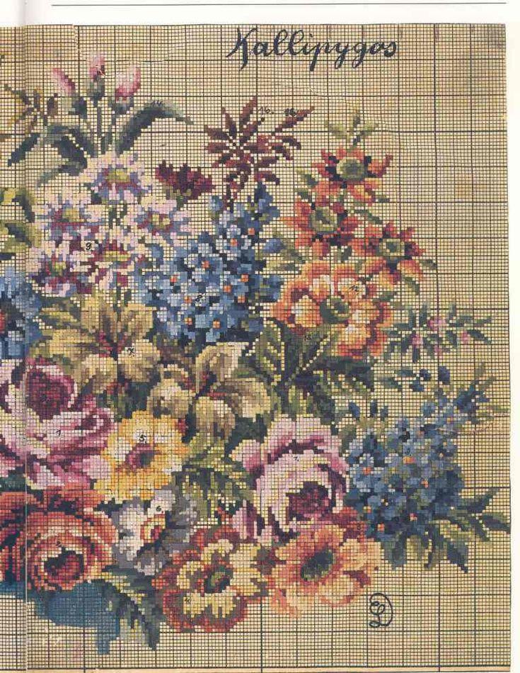 """Pattern from book""""Schone alte Stickvorlagen"""""""
