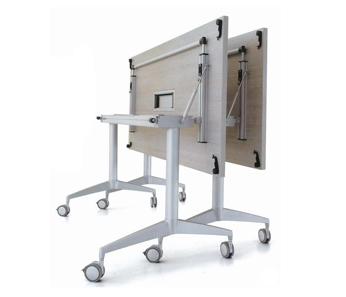 Blip   UCI Table. Folding mechanism allows the table to be moved and stored easily and compactly, enabling versatile space utilisation. uci.com.au