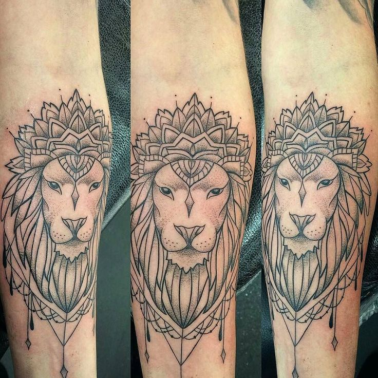 Fresh WTFDotworkTattoo Find Fresh from the Web Lovely lion realness from Lesa…