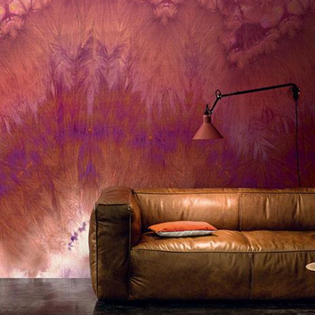 @latorredecora http://latorredecoracion.com/casamance/ Mural de papel pintado Grenat de Casamance