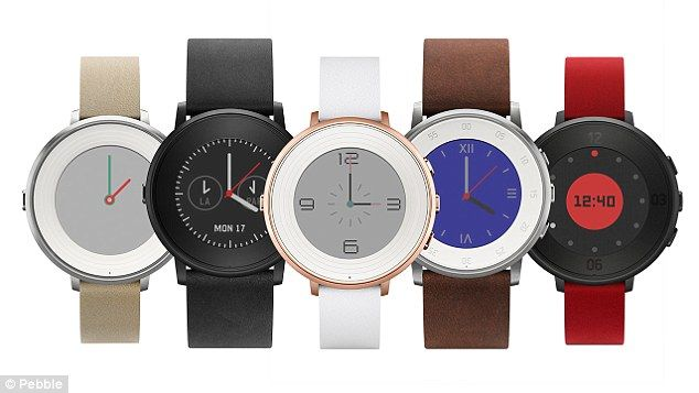 The new Pebble Time Round is 'is the perfect companion for those who like their wearable t...