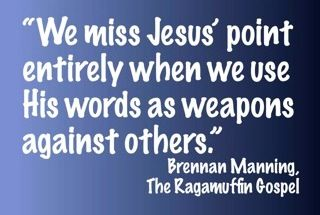 Brennan Manning, The Ragamuffin Gospel - Still one of the best speakers I have had the privilege to hear.