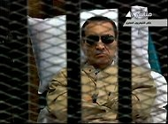 Hosni Mubarak Sentenced to Life Term     Slide Show  Egyptians React After Former President Is Sentenced     Interactive Feature  Timeline: The Rise and Fall of Hosni Mubarak