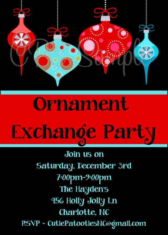 Christmas ornament swap business plan