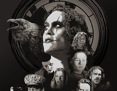 "Check out new work on my @Behance portfolio: ""The Crow 