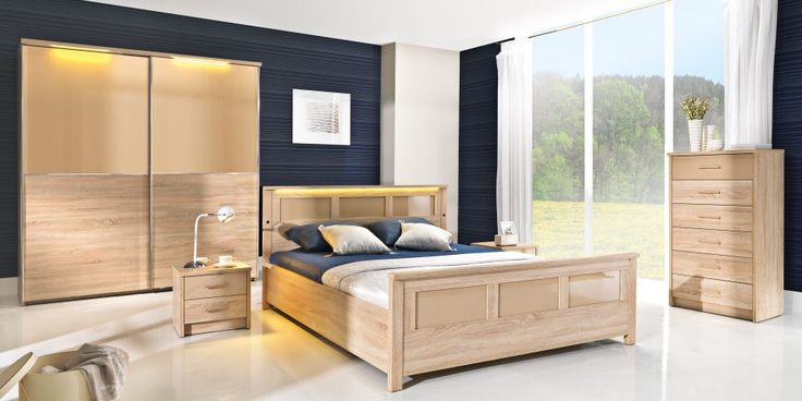 Contemporary Oak Bedroom Furniture Image Review