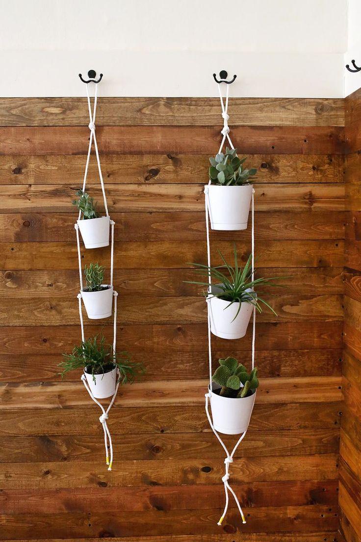 581 best Plants :: Indoor, Hanging & DIY Pots images on ... on Hanging Plant Pots Indoor  id=32023