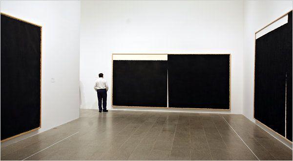 Richard Serra's Drawings at Metropolitan Museum of Art - NYTimes.com