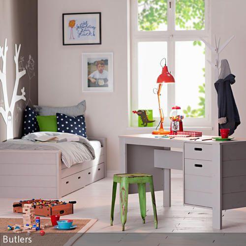 Die besten 25+ graue Kinderzimmermöbel Ideen auf Pinterest ... | {Kinderzimmermöbel weiß 23}