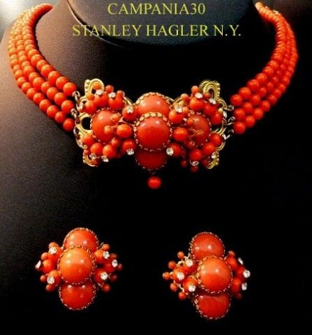 A Great Vintage Suite of Colorful Gems, such as these by Stanley Hagler, NY